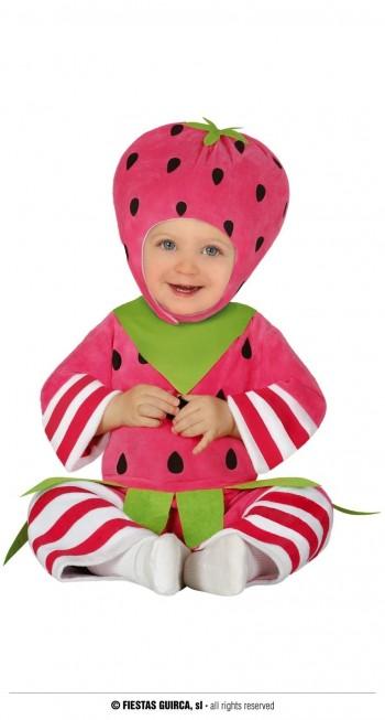 Z ONLINE DISFRAZ LITTLE STRAWBERRY INFANTIL GUIRCA 87821