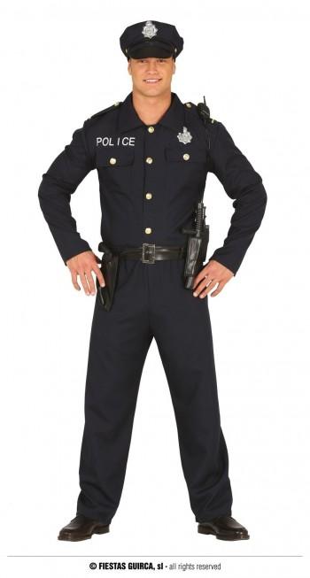 Z ONLINE DISFRAZ POLICIA ADULTO GUIRCA 88171