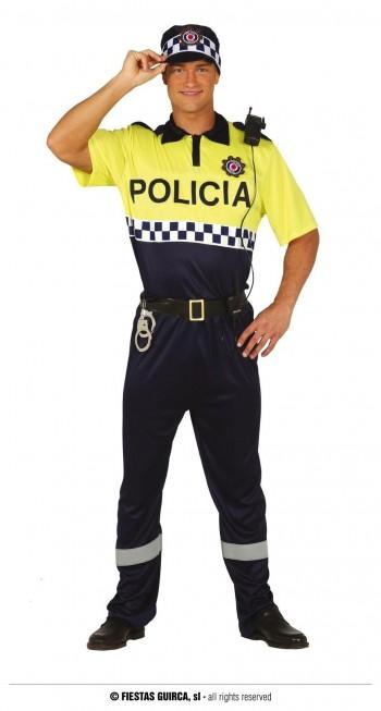 Z ONLINE DISFRAZ POLICIA LOCAL ADULTO GUIRCA 88190