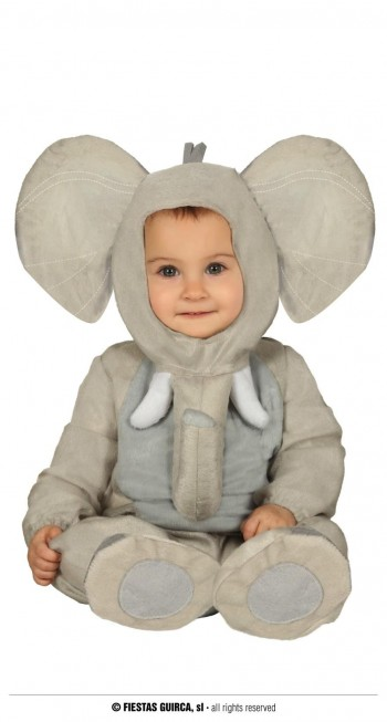 Z ONLINE DISFRAZ ELEFANTE BABY INFANTIL GUIRCA 88395