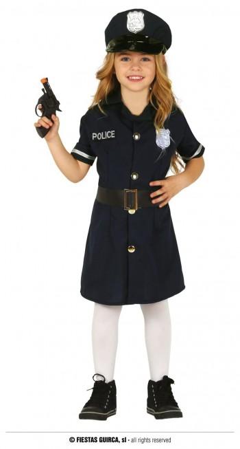 Z ONLINE DISFRAZ POLICIA NIÑA INFANTIL GUIRCA 88453