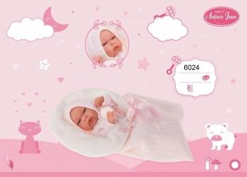 MUÑECA ANTONIO JUAN BABY TONETA ROSA  INVIERNO 6024