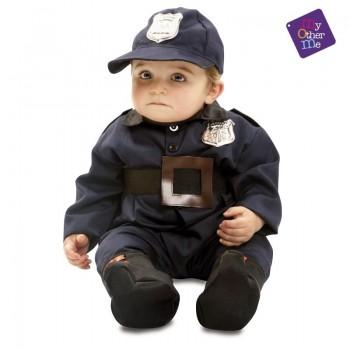 DISFRAZ BABY POLICIA 12-24 MESES MOM 203292
