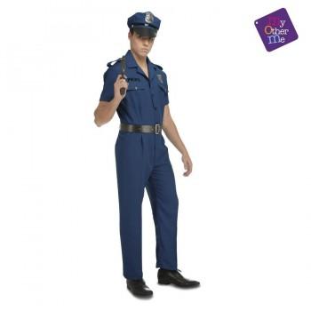 DISFRAZ POLICIA HOMBRE T-ML ADULTO MOM 204243