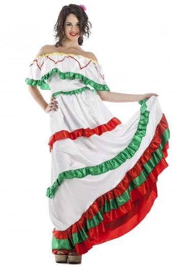 Z ONLINE DISFRAZ MEXICANA  ADULTA K0121