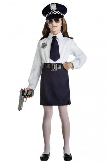 Z ONLINE DISFRAZ NIÑA POLICIA INFANTIL K0922
