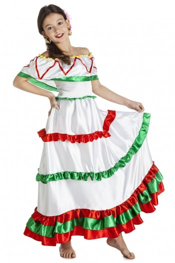 Z ONLINE DISFRAZ MEXICANA INFANTIL K1220