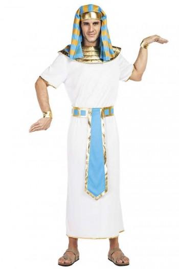 Z ONLINE DISFRAZ EGIPCIO AZUL  ADULTO K2620