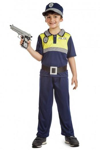 Z ONLINE DISFRAZ POLICIA LOCAL NIÑO INFANTIL K3738