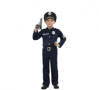 Z ONLINE DISFRAZ POLICIA NIÑO INFANTIL K4749