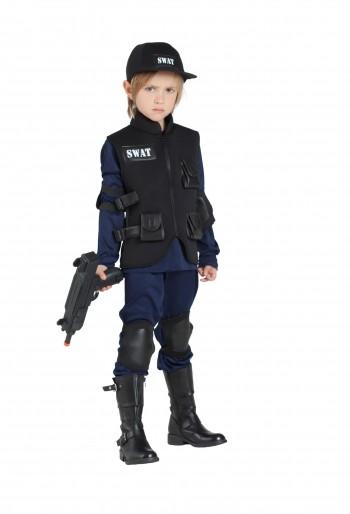 Z ONLINE DISFRAZ POLICIA SWAT K6370
