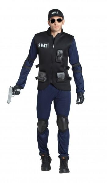 Z ONLINE DISFRAZ POLICIA  SWAT ADULTO K6375