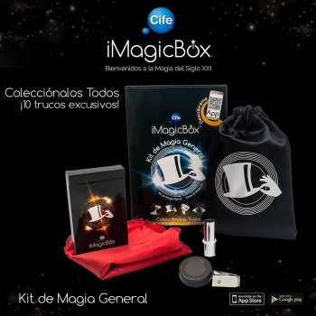 SURTIDO IMAGICBOX KIT MAGIA GENERAL CIFE REF-41449