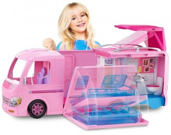 AUTOCARAVANA SUPERDIVERTIDA BARBIE