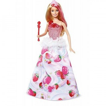 BARBIE DESTELLOS PRINCESA DREAMTOPIA VARITA MUSICAL MATTEL