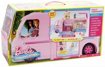 BARBIE SUPER CARAVANA DREAM CAMPER MATTEL