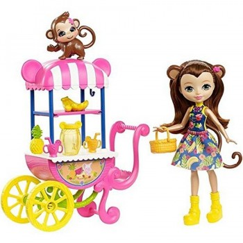 PACK ENCHANTIMALS CARRITO FRUTA MATTEL