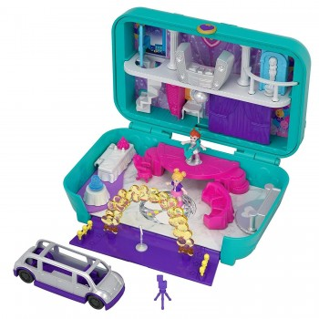 POLLY POCKET MALETIN FIESTA DIVERTIDA MATTEL REF-446FRY41