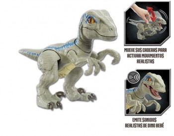PRIMAL PAL BLUE JURASSIC WORLD MATTEL 446GFD40